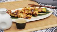 去骨鸡腿肉碰撞新鲜京葱,令人难以拒绝的日式鸡肉串
