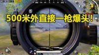 和平精英:面对敌人非法组队,小薇直接500米外一枪爆头教他做人!