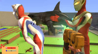 奥特曼:杰斯提斯用鲨鱼帮戴拿抓痒有用吗?