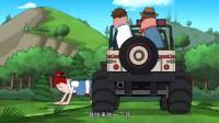 搞笑吃鸡动画:路人和霸哥比手速自取其辱,瓦特撞伤队友直呼舒服了
