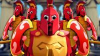 小飞象解说✘全面战争模拟器 角斗士模组!冰霜巨人的第一视角!