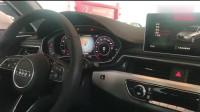 看了新奥迪A4L副驾的液晶显示功能,宝马3系,奔驰C级该怕了!