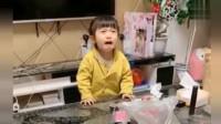 小恬恬变脸的速度果然快,真是说哭就哭,让人防不胜防啊