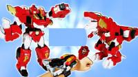 机械机器人玩具拆盒展示