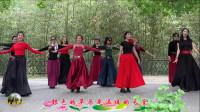 紫竹院广场舞,花开的季节舞蹈二十五《草原情》