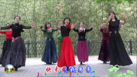 紫竹院广场舞,花开的季节舞蹈二十九《火火的姑娘》