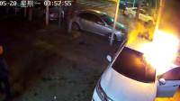 男子盗窃车内财物不成气急败坏 连烧两车泄愤被刑拘