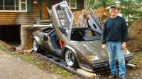 小伙花费17年时间制作兰博基尼跑车,结果要开出来的时候尴尬了!