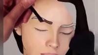 这样的化妆教程,也太炫了吧,看完你一定拿起化妆刷