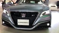 2019款丰田皇冠RS亮相,看过外观及内饰后,给我一个不心动的理由