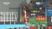 女子跳水10米台比赛,别看小姐姐身材有些微胖,看到分数我服了