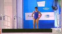 完美!15岁小女将跳出7个满分成绩,不愧是中国跳水梦之队