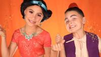 国外儿童美妆秀:姐弟俩仿妆茉莉公主和阿拉丁神灯你觉得像吗?