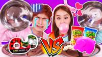 [真的食物VS泡泡糖] 和姜一一起玩福不福随机抽选食物游戏-基尼