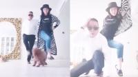 潘长江和女儿家中搞怪走秀吓坏宠物狗,奢华房子内景被曝光