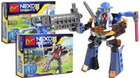 未来骑士团积木 2合体 猛兽巨炮机甲 拼装玩具 鳕鱼乐园