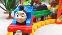 托马斯小火车煤炭料斗!托马斯帮狄塞尔运煤!