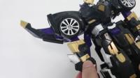 迷你特工队 原创玩具测评:特工雷之变形机甲玩法细节展示教程