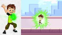 《Ben10:少年骇客》田小班被困在了电子游戏机里!
