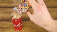 用普通易拉罐制作彩花筒的方法,简单又有创意