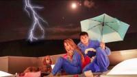 熊孩子二哥和二嫂挑战屋顶过夜!却遇到暴风雨!二嫂:有阴影了!