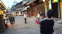 自驾游旅行到贵州四大古镇之一青岩古镇,已经有800年历史