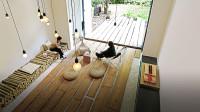 他在北京200㎡的家,家具不超过3件:在家绝不能瘫坐昏沉