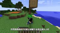 【阿阳】我的世界:阿阳主动把一顶绿帽子戴在自己的头上,还说太酷了!