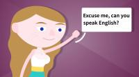 外国美女跟你搭讪,但你不会英语该怎么办?