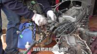 青年小伙在家研究发动机,拆解和组装耗时一个多月终于完成