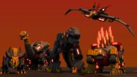 """《变形金刚》自制3D变身特效动画!""""机器恐龙"""""""