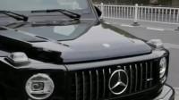奔驰大G黑武士真心帅气,听说这车要加价70万,男人的梦想座驾