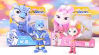 宇宙护卫队动画片主角风暴和彩虹玩偶玩具