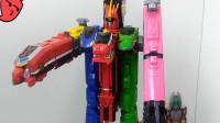 第169期模玩分享兽电武装特急强龙神-萝卜吐槽番外烈车战队dx
