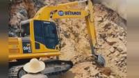 挖掘机:真正的用命去挣钱,这根本不是技术不技术的问题了