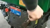 柴油机不会摇,怕打手?老师傅设计的摇把轻松搞定,神了