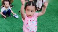 幼儿园给小萝莉开了个专场,这宝贝一点都不怯场,跳的还挺好
