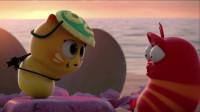 爆笑虫子:黄虫没亲红虫女朋友的证据,一清二楚