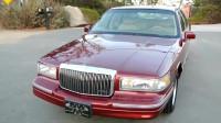 1997款林肯城市轿车