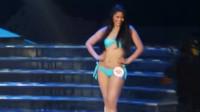 东京国际模特大赛泳装走秀,就凭模特这身材,就不会轻易被淘汰!