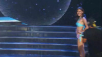 东京国际模特大赛泳装走秀,模特的笑容真是有个性!