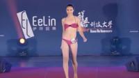 伊林璀璨之星模特大赛泳装秀,传说中的肤白貌美大长腿,也就这样吧?
