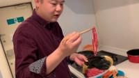 日本的生冷食物实在是吃不惯,大厨自己动手煮早餐,色,香,味,俱全。健康,美味。