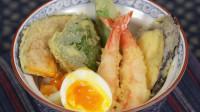 明虾蔬菜天妇罗盖饭  Shrimp Egg Tendon