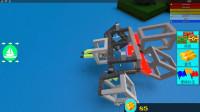 Roblox 造船寻宝!我和小伙伴造了一个机器人闯关,结果被雷劈了!