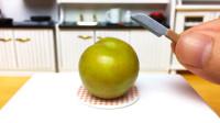 定格动画美食:水果自由!从便宜的小李子开始,要优雅地吃
