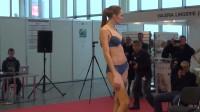 俄罗斯时装周性感内衣秀,高挑身材能驾驭各种类型的服装!