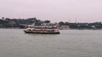 实拍厦门去鼓浪屿的轮渡码头风景