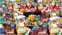 土豪小哥败家,将整家超市的商品给清空!老板:欢迎下次常来啊!