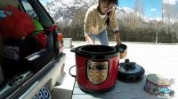爱行记121:在海拔4000米的雪山下做饭,这样做饭能好吃吗?